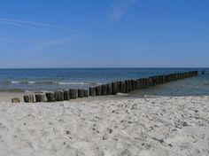 Chalupy beach in Poland (Baltic Sea) Najpiękniejsze polskie plaże