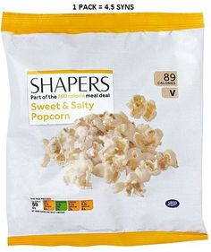 Explore Shapers Sweet and Salty Popcorn and earn Advantage Card points on purchases. 500 Calorie Meals, Slimming World Syns, 500 Calories, Meal Deal, Sweet And Salty, Popcorn, Free Delivery, Film, Boots