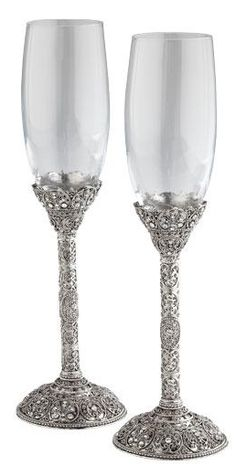 Pair of Chantilly Flutes by Olivia Riegel $169.99