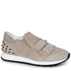 TOD'S Slip-On-Sneakers Aus Veloursleder. #tods #shoes #alle anzeigen