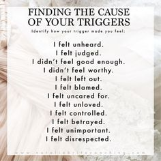 We are so Emotionally Triggered by our ADHD kiddos. This list is so helpful for self-reflection. We are so Emotionally Triggered by our ADHD kiddos. This list is so helpful for self-reflection. Mental And Emotional Health, Mental Health Awareness, Emotional Healing, Emotional Well Being, Emotional Awareness, Psychology Facts, Psychology Experiments, Educational Psychology, Personality Psychology