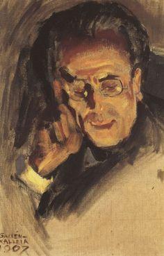 AKSELI GALLEN-KALLELA  Portrait of Gustav Mahler