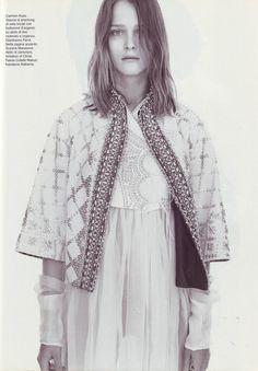 Vogue Italia January 2002 Portraits Ph: Steven Meisel