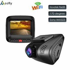 On sale US $46.24  Accfly WIFI Car Dash Cam Camera dashcam DVR DVRs car video registrator Novatek 96658 Sony IMX323 Full HD 1080P 170 degree  #Accfly #WIFI #Dash #Camera #dashcam #DVRs #video #registrator #Novatek #Sony #Full #degree  #BestSeller