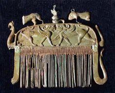 Pettine etrusco in avorio