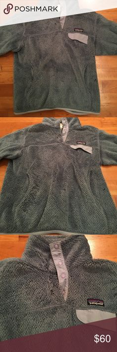Women's Size Small Patagonia Gently used Patagonia pullover! See small imperfection by collar. Great, timeless style Patagonia Tops Sweatshirts & Hoodies