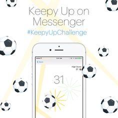 Facebook Debuts Keepy Up on Messenger Soccer Game