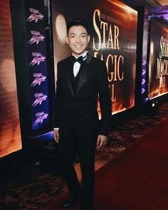 Darren @ #starmagicball #fashion #lookgreat #nicesuit