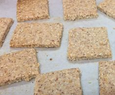 Recipe LCHF Sesame Parmesan Crackers by Rosie09 - Recipe of category Baking - savoury