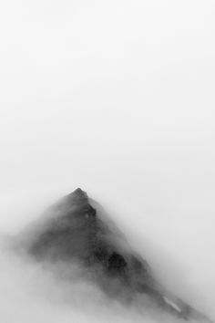 Photograph Foggy III by Alex Schubert.  Photo of the Alps at Rudolfshütte, Austria.