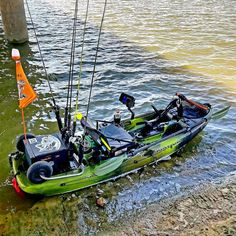 Check out this Slayer Propel 10 setup! – Famous Last Words Kayak Fishing Gear, Bass Fishing Boats, Bass Fishing Tips, Kayak Camping, Canoe And Kayak, Fishing Lures, Fly Fishing, Kayaking Gear, Bowfishing Bows