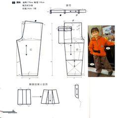 Diy Pantalon, Baby Patterns, Sewing Patterns, Sewing Tutorials, Sewing Projects, Short Niña, Crochet Baby Jacket, 4 Kids, Sewing For Kids
