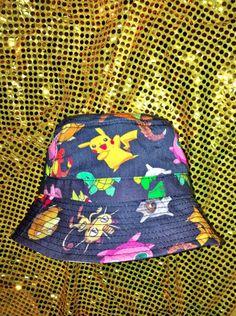 8248756664d SWEET LORD O MIGHTY! POKEMON BUCKET HAT
