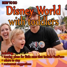A toddler centered Disney World trip plan from @Shannon, WDW Prep School - where to stay, what to eat, touring plans