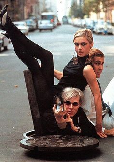 I'd wear Andy Warhol, c'mon, who wouldn't???