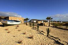 Entrance Spinguera Eco Resort Cape Verde