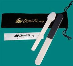 Amera Nail File & Tri-Color Buffer by Amera Cosmetics. $17.00. Great Amera Nail File and Tri-Color Buffer together. Black drawstring pouch for convenient storage. Our exclusive ceramic file and Nail Buffer together with a handy black drawstring pouch.