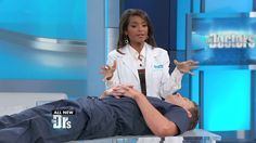 OB-GYN Lisa Masterson demonstrates Reiki healing, an ancient treatment that uses the channeling of energy to help remove pain and de-stress patients....