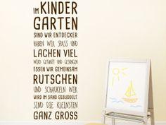 Wandtattoo Im Kindergarten