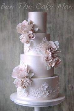 Ben the Cake Man Wedding Cake Inspiration