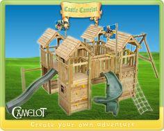 Castle in wood