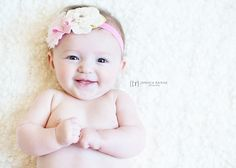 Cute 3 month Baby Picture Poses | Perrin | 3 months old | Spring Hill, TN Baby Photographer | Jessica ...