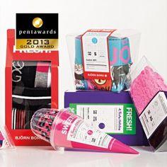 PENTAWARDS-2013 Bjorn Borg clever assorted award winning underwear #packaging PD