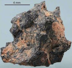 Un fragment de la mystérieuse météorite Hypatie. © Jan D. Kramers et al.