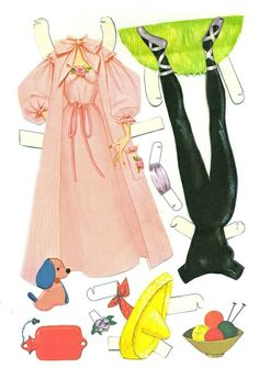 1000+ images about Barbie Paper Dolls on Pinterest ...