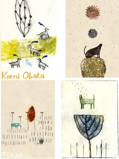 Kumi Obata. Check out my blog ramblings and arty chat here www.fishinkblog.w... and my stationery here www.fishink.co.uk , illustration here www.fishink.etsy.com and here http://www.fishink.carbonmade.com/projects/4182518#1 Happy Pinning ! :)