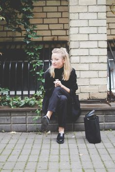 ootd, fashion blogger, outfit, lookbook, minimal, scandinavian style, blond