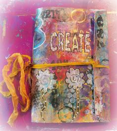 DIY Easy Art envelope journal/How to make a envelope art journal/Tutorial