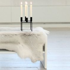 Finnish reindeer hide from Nature Collections via eu.fab.com