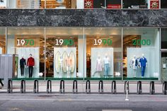 Lacoste interactive windows by M Crown Productions, New York