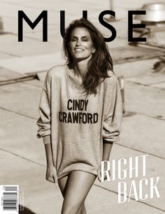 MUSE #34 SUMMER 2013, Cindy Crawford by Mariano Vivanco.