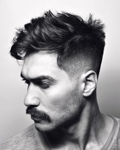 WONDERFUL HAIRY MEN Mullet Haircut, Mullet Hairstyle, Hairstyle Men, Hairy Men, Bearded Men, Moustaches, Hair And Beard Styles, Short Hair Styles, Mustache Styles