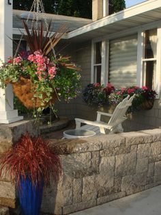 """Need a really large hanging basket?  I used a wire basket that tree movers used for tree spading.  I lined the 24"""" basket with moss, a whole lot less expensive that buying a regular wire hanging basket of that size. Make sure you have a really strong hook to hang it."""