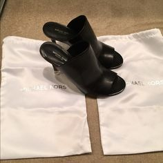 Authentic new Michael kors collection heels Come with dust bags new black super soft Michael kors collection  heels beautiful comes with dust bags and card MICHAEL Michael Kors Shoes