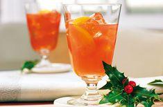 Blutorangen - Ingwer-Cocktail Korn, Hurricane Glass, Flute, Champagne, Tableware, Popular Cocktails, Popular Recipes, Blood Orange, Food And Drinks
