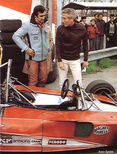 1976-Vallelunga-312 T2-Reutemann and Paul Newman