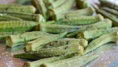 Okra | Roasted With Rosemary - Decorchick!
