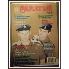 Paratus February 1991. Steve Hofmeyr in the SADF