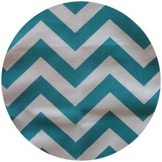premier prints, zig zag, chevron, true turquoise, 1/2 yard $5.25, home dec