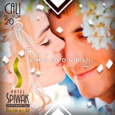 Vive la magia de tus eventos sociales en el stand del Hotel Spiwak el 14 de octubre a las 5:30 pm. #Hotelspiwak #Caliexposhow