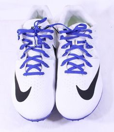 45ed4258e0c6 Nike Zoom Rival S 8 Mens Track   Field Spikes Sprint Shoes Size 13 806554-