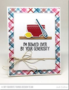 Kitschy Kitchen Card Kit - Jodi Collins  #mftstamps