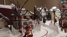 I love a good Christmas village! -Sam