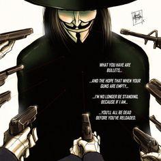 V For Vendetta - Artist Unknown