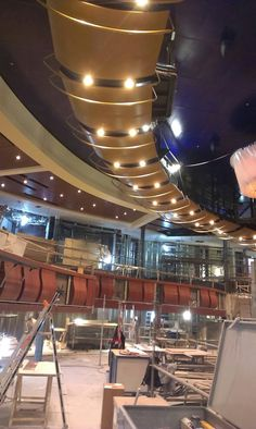 Harmony of the Seas' Royal Theater.
