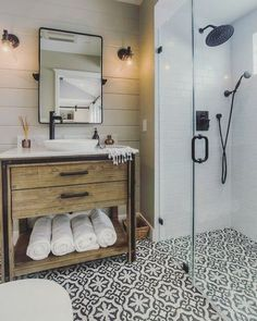20 best farmhouse bathroom design ideas 36 best farmhouse bathroom design and old farmhouse lighting small bathroom decor ideas 36 best farmhouse bathroom design [. House Bathroom, Bathroom Inspiration, Bathrooms Remodel, Bath Remodel, Amazing Bathrooms, Bathroom Decor, Bathroom Design, Bathroom Remodel Master, Tile Bathroom